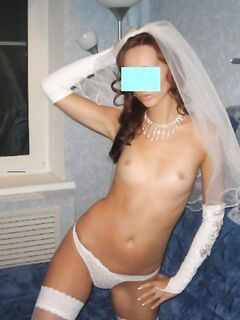 Порно фото невесты