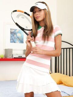 Анальные забавы с хорошенький теннисисткой