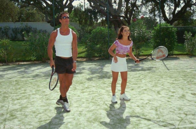 Оргия на теннисных кортах