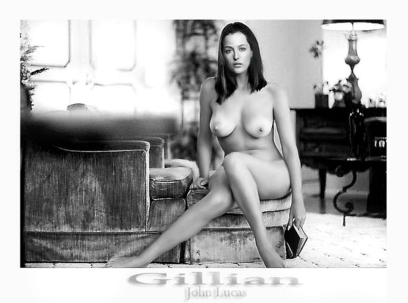 Джиллиан Андерсон пососала огромную залупу