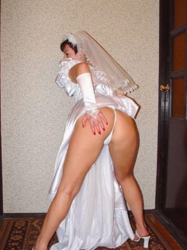 Красивые эротические фото с голыми невестами