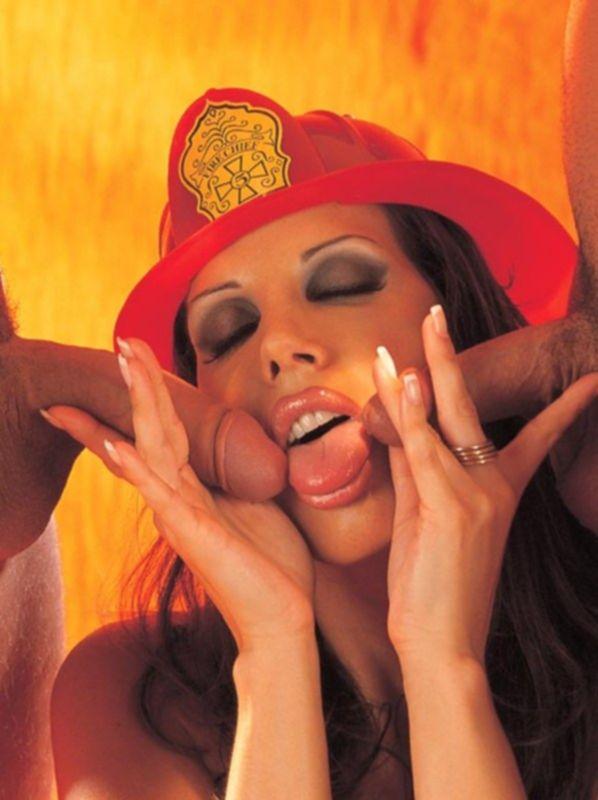 Она потушит их сексуальный пожар