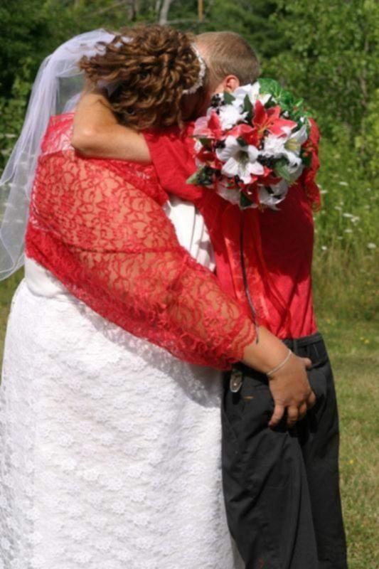 Сексуальные забавы во время свадьбы