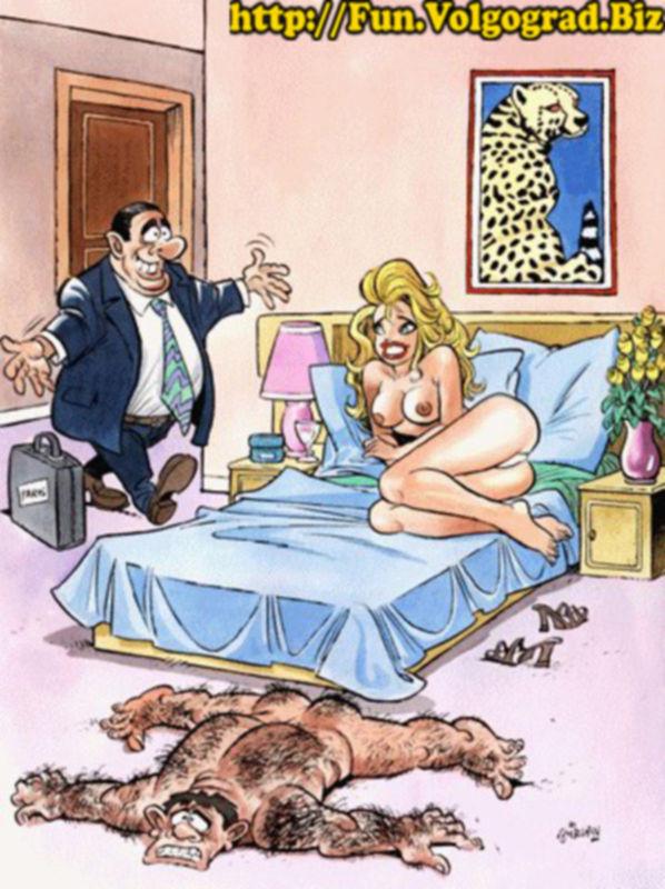 Веселое рисованное порно