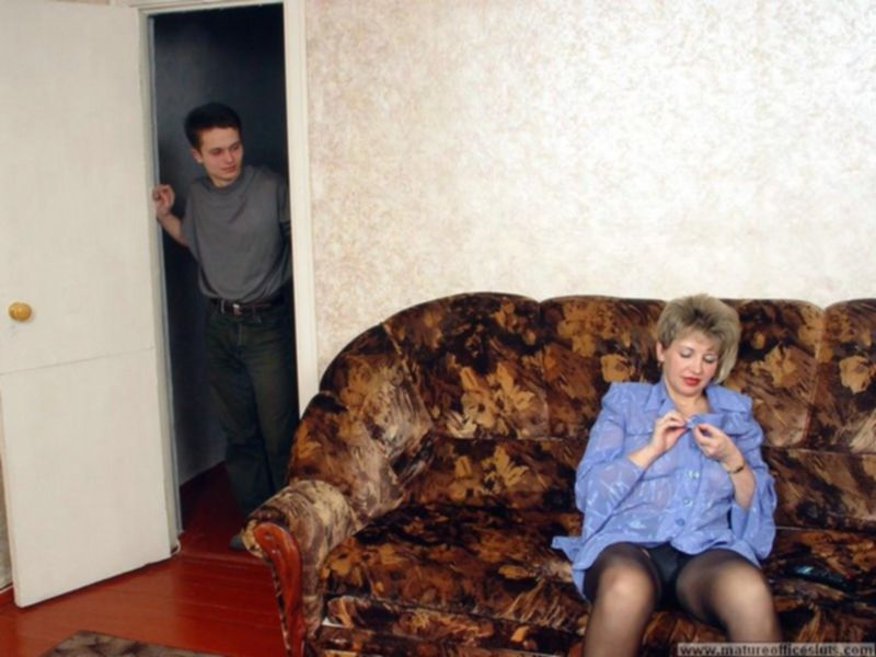 Секс с русской горничной