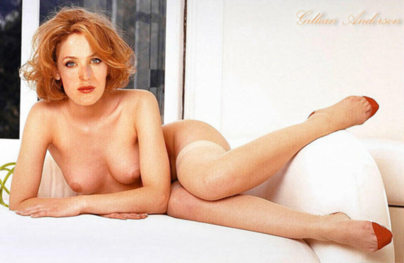 Порно фото с Джиллиан Андерсон