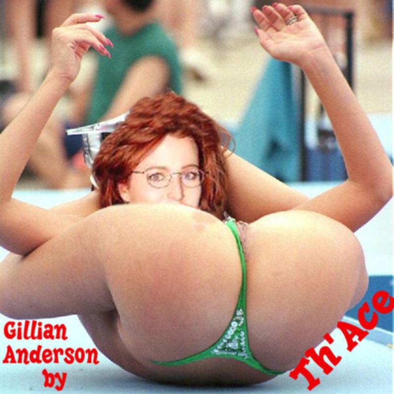 Голая Джиллиан Андерсон и бурный трах с ее телом